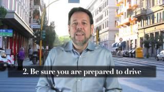 Steve's Travel Tips #13 - Driving in Italy