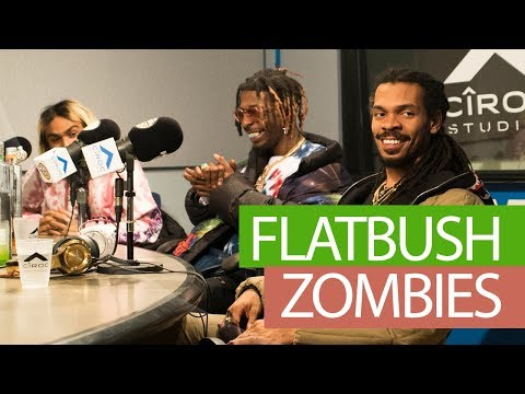 FLATBUSH ZOMBIES FREESTYLE ON FLEX | #FREESTYLE095