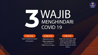3 Hal Wajib Menghindari Covid19