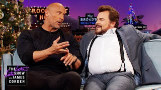 Dwayne Johnson Is Having the Daughter Jack Black Wants