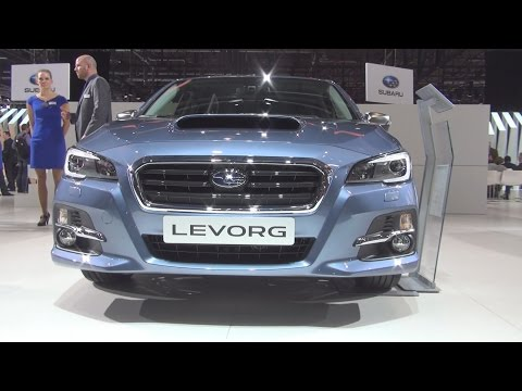 Subaru Levorg 1.6 DIT AWD Swiss S (2016) Exterior and Interior in 3D