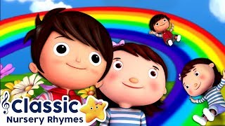 Rainbow Colors Song | Classic Nursery Rhymes | Little Baby Bum