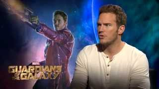 "Marvel's ""Guardians of the Galaxy"" – Chris Pratt Interview"