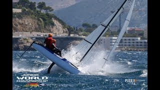 49er - Nacra 17 Sailing Highlights and Crashes - 2018 Junior Worlds
