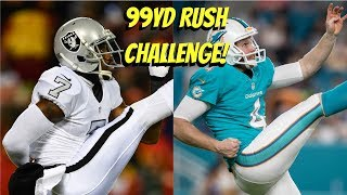 CAN THE TWO FASTEST PUNTERS GET A 99YD RUSHING TOUCHDOWN?!? MARQUETTE KING VS MATT HAACK