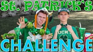 The St. Patrick's Day CHALLENGE (FAIL) Sibling Tag 2016 | Collins Key