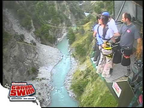 Botts and KMac on Shotover Canyon Swing