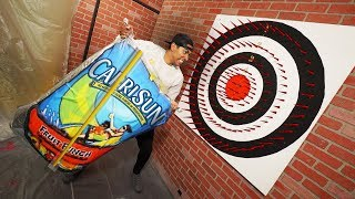 Deadly Dart Board Challenge (ft. Team Edge)