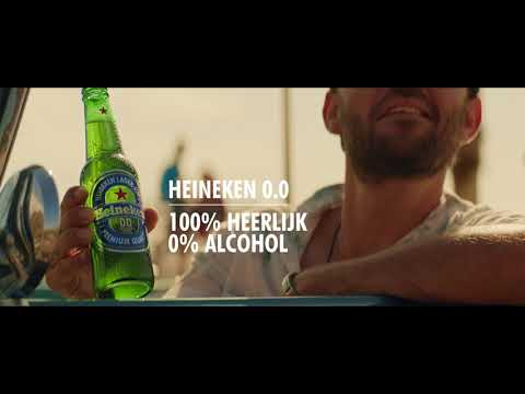 HEINEKEN 0% alcohol, nu in 12-pack