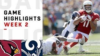 Cardinals vs. Rams Week 2 Highlights   NFL 2018