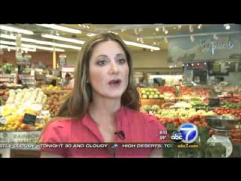 ABC7 TV Los Angeles - Fooducate at the Supermarket - April 6, 2011