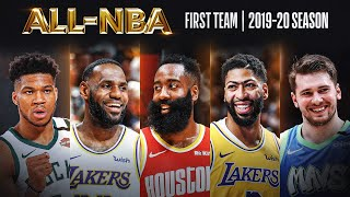 The Best Of The 2019-20 All-NBA First Team!