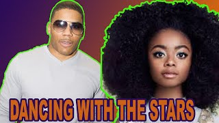 SHAI JACKSON AND NELLY DANCING WITH THE STARS