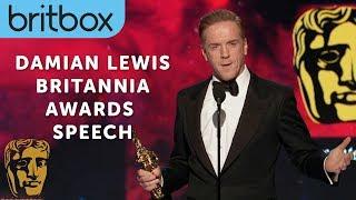 Damian Lewis Impersonates Michael Caine | Britannia Awards | BritBox