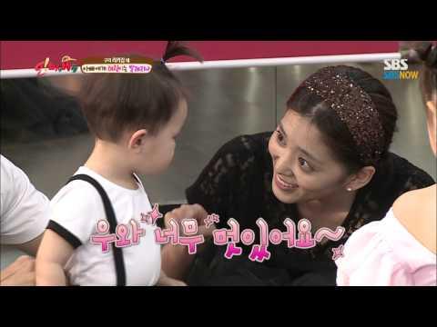 SBS [오마이베이비] - 태오의 수박먹방과 태린의 발레레슨