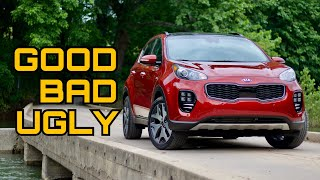 2018 Kia Sportage SX AWD Review: The Good, The Bad, & The Ugly