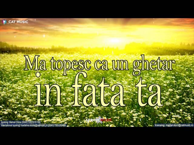 Simona Nae feat. Ralflo - Doar tu (Lyric Video)