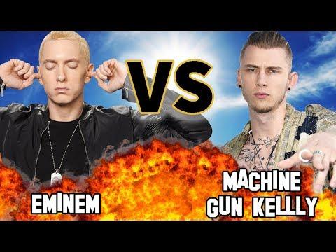 EMINEM VS. MACHINE GUN KELLY | Versus | Before They Were Famous