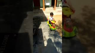 POLICE BABY PRETEND play with his car  Unboxing and playing with toy at palthana
