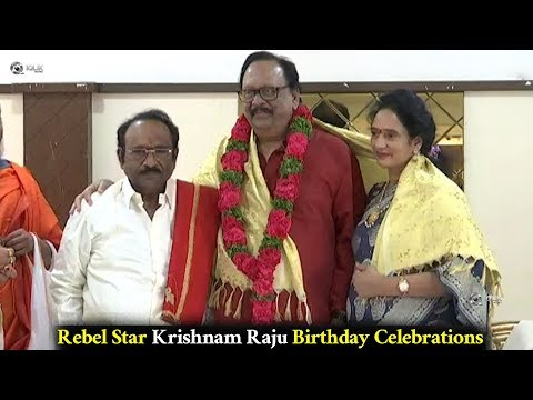 Rebel Star Krishnam Raju Birthday Celebrations Event