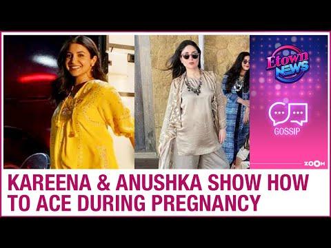 Kareena Kapoor & Anushka Sharma show the world how to ace during pregnancy