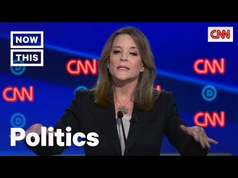 Marianne Williamson Defends Reparations Plan During Democratic Debate | NowThis
