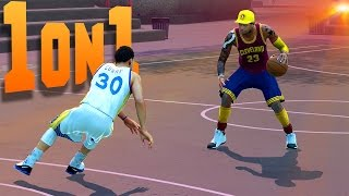 That Time STEPH CURRY Got His Ankles Broken - NBA 2K16 1on1 #10