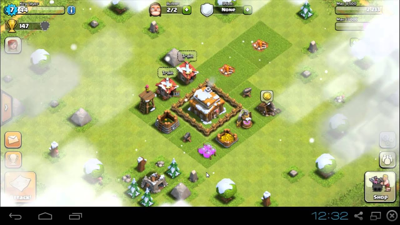 How to play clash of clans on windows 7 | How to play Clash of Clans
