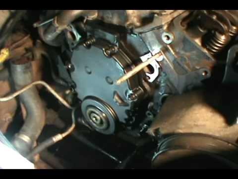 part 5, Vortec 5.7 350 head gasket, water pump & timing ...