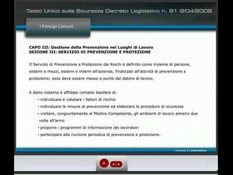 Corso on-line RSPP (D.Lgs. 81-08) - Beta Formazione