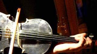 Cool & Unusual METAL Stradivarius Violin, Amazing Handmade Instrument