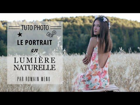 Les portraits en lumière naturelle - Tutoriel photo