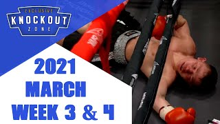 Boxing Knockouts | March 2021 Week 3 & 4