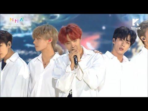 [BTS (방탄소년단) - Intro Performance, DNA, YNWA, Spring Day] Live @ Melon Music Awards (2017 멜론뮤직어워드)