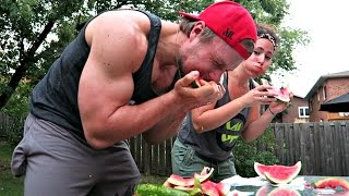 Furious Pete vs Girlfriend: Watermelon Off!