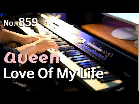 Queen(퀸) - Love Of My Life (러브 오프 마이 라이프) piano cover and sheet(피아노 연주와 악보)