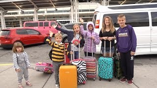 5:30 AM KIDS SURPRISE Vacation | HUGE GIVEAWAY ANNOUNCEMENT