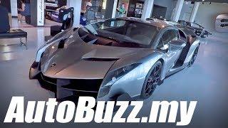 Lamborghini Museum tour in Sant'Agata Bolognese, Italy - AutoBuzz.my