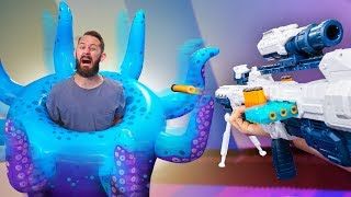 NERF Don't Get Trapped In The Kraken Challenge!