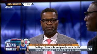 UNDISPUTED   Stephen Jackson STUNNED by