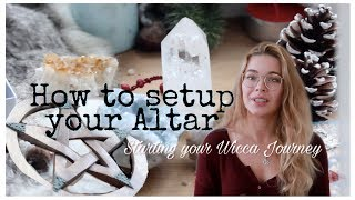 Setting up your Altar || Wicca 101