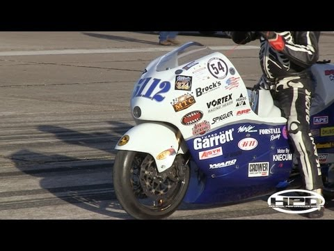 200+mph Motorcycles - Texas Mile - October 2011
