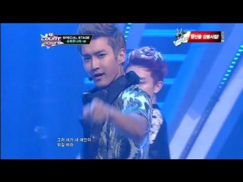 Super Junior-M(슈퍼주니어M)- Go 130131 Mcountdown