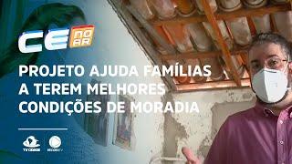Projeto ajuda famílias a terem melhores condições de moradia
