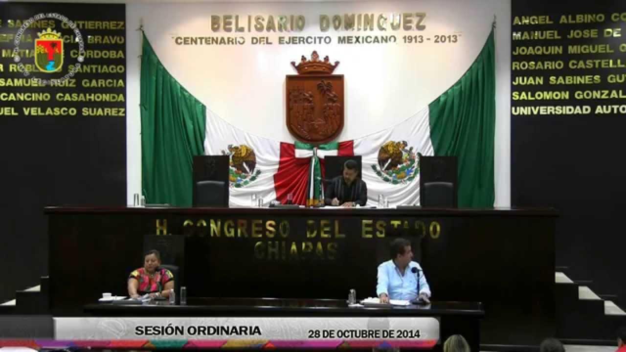 Sesión Ordinaria 28 de Octubre de 2014