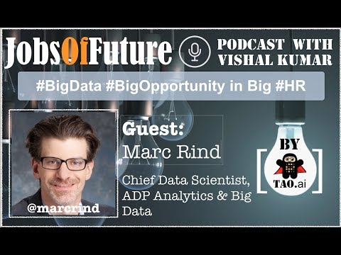 #BigData #BigOpportunity in Big #HR by @MarcRind #JobsOfFuture #Podcast