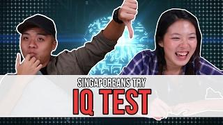 Singaporeans Try: IQ Test | EP 90