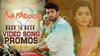 Geetha Govindam Back to Back Video Song Promos..