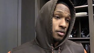 Damarious Randall on being left in Cleveland for Steelers game