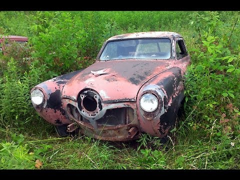 Tennessee Classic Car Junkyard Wrecked Vintage Muscle